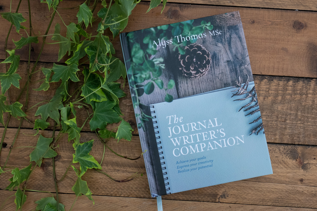 Journal Writers Companion Book by Alyss Thomas