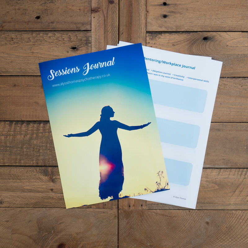 Psychotherapy Sessions Journal by Alyss Thomas Freebie