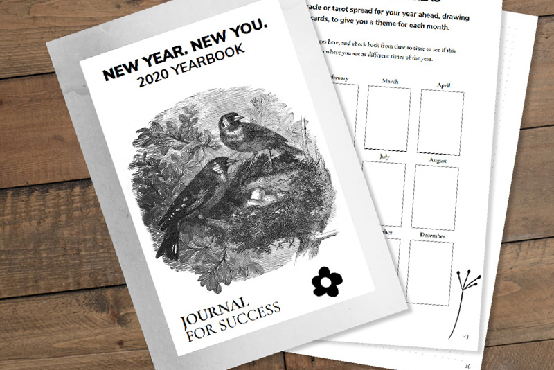 New Year, New You 2020 Journal Ebook