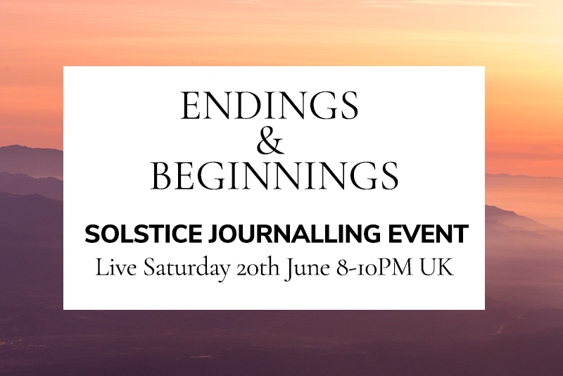 Solstice Journalling Event